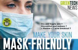 """Dal nostro partner Greentech, soluzioni per una pelle""""Mask-Friendly"""""""
