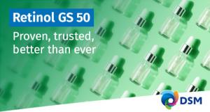 Retinol GS50 di DSM – provato, testato, migliore che mai